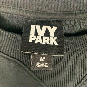 IVY PARK Sweaters - IVY PARK X BEYONCE Black Logo Crewneck Sweater
